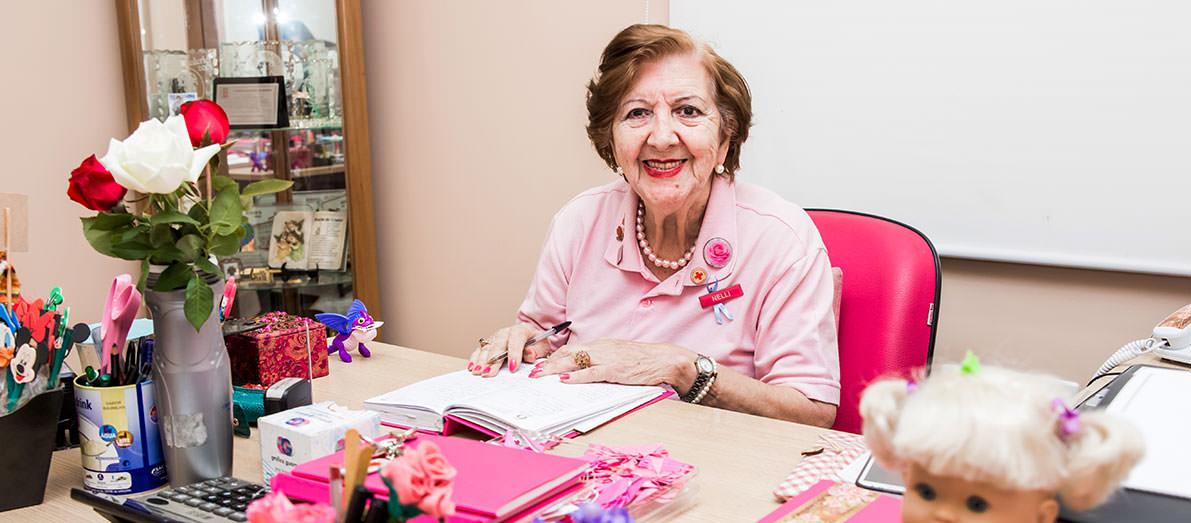 Nelli Cavallucci<span>Fundadora da Associação Santa Isabel de Combate ao Câncer</span>